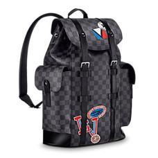 Louis Vuitton Christopher Backpack PM N41055 Damier Graphite Canvas