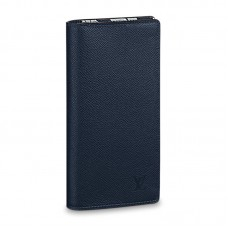 Louis Vuitton Brazza Wallet M30161 Taiga Leather