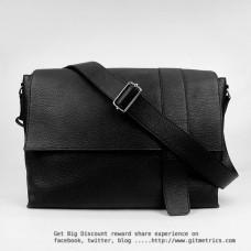 Hermes Calf Leather 2815 Handbag Black