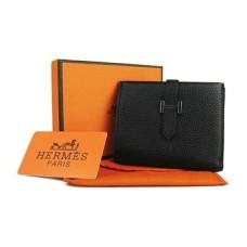 Hermes Bi-Fold Wallet H006 black