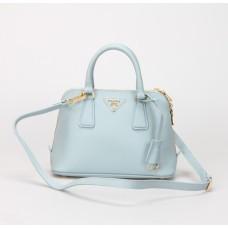 Prada 0838 Tote Bag Light Blue