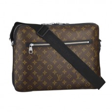 Louis Vuitton M40387 Torres Messenger Bag Monogram Macassar Canvas