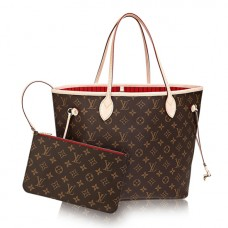 Louis Vuitton M41177 Neverfull MM Shoulder Bag Monogram Canvas