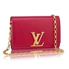 Louis Vuitton M42386 Chain Louise GM Crossbody Bag Taurillon Leather