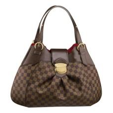 Louis Vuitton N41540 Sistina GM Hobo Bag Damier Ebene Canvas