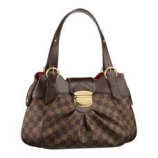 Louis Vuitton N41542 Sistina PM Hobo Bag Damier Ebene Canvas