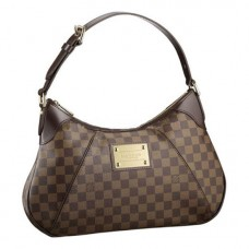 Louis Vuitton N48181 Thames GM Hobo Bag Damier Ebene Canvas
